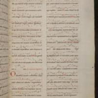 "Music notation for Ordo Virtutum from the Wiesbaden (""Giant"") Codex (c. 1179), fol. 478r, from the University of RheinMain"