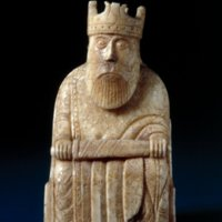 The Lewis Chessmen chess-piece (c. 1150-1175) from British Museum&lt;br /&gt;<br />