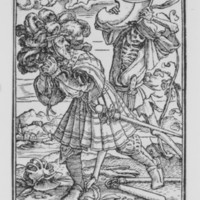 The Count, from the Dance of Death (c. 1526)