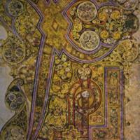 Chi-Rho-Iota folium, from The Book of Kells (9th century), from DRIS Trinity College Liberary Dublin IE TCD MS 58