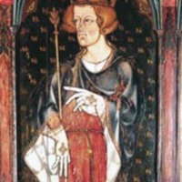 Altarpiece Painting of King Edward I (r. 1272-1307)