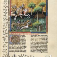 On how to hunt and take the Wild Boar (c. 1387-1389)