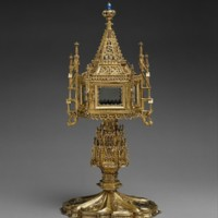Monstrance (16th Century), from The Metropolitan Museum of Art
